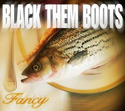 black them boots fancy