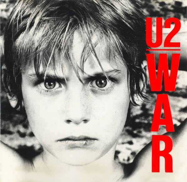 U2 - War - front