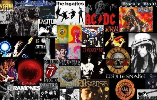 rock-n-roll-collage